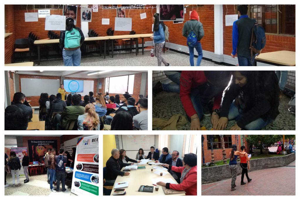 Fotos de algunas actividades realizadas en la semana tecnológica