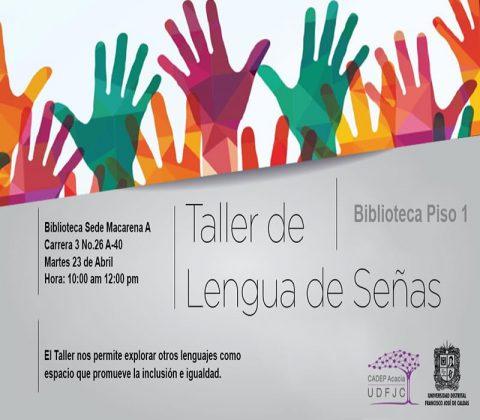 El Centro Acacia fomenta y promueve la sensibilidad a la población sorda a través de la lengua de señas