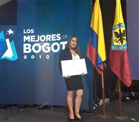 Estudiante vinculada al Proyecto ACACIA fue 4 puesto en el premio a la investigación e innovación educativa 2019