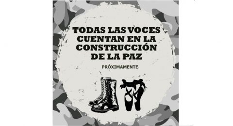 Inicia Campaña 'Todas las voces cuentan en la construcción de la paz'
