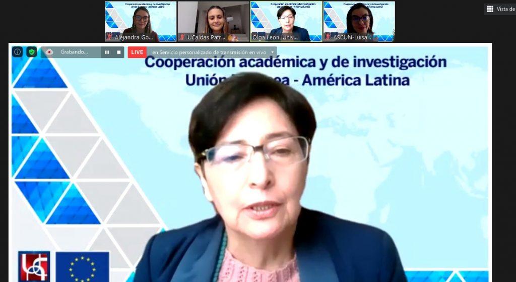 Olga Lucía León Corredor participa en la Cooperación académica y de investigación entre la Unión europea y américa latina