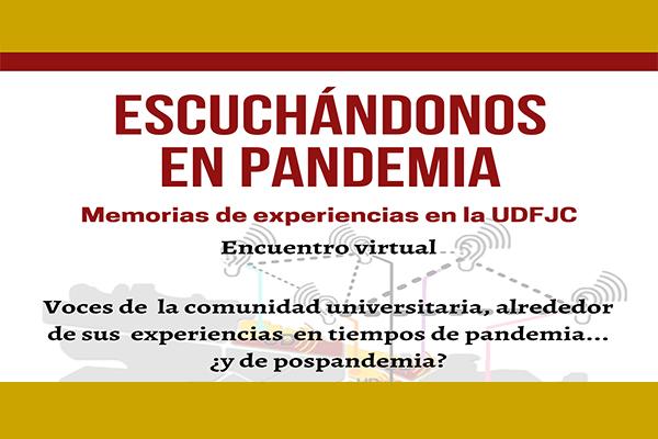 Encuentro virtual: Escuchándonos en pandemia