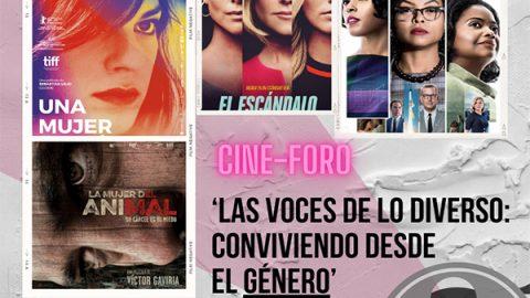 Inicia campaña de género con el cine foro 'Las voces de lo diverso: conviviendo desde el género'