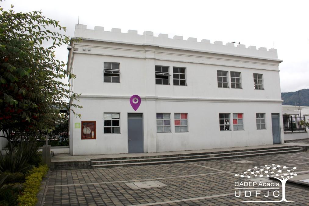 Ubicación del Centro Acacia- Sede aduanilla de paiba