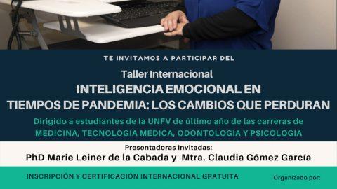 Taller Internacional «Inteligencia Emocional en Tiempos de Pandemia: Los Cambios que Perduran»