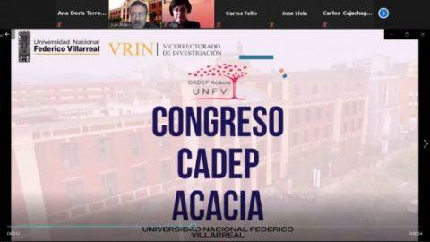 Así se vivió el Congreso Acacia promovido por la Universidad Nacional Federico Villarreal de Perú