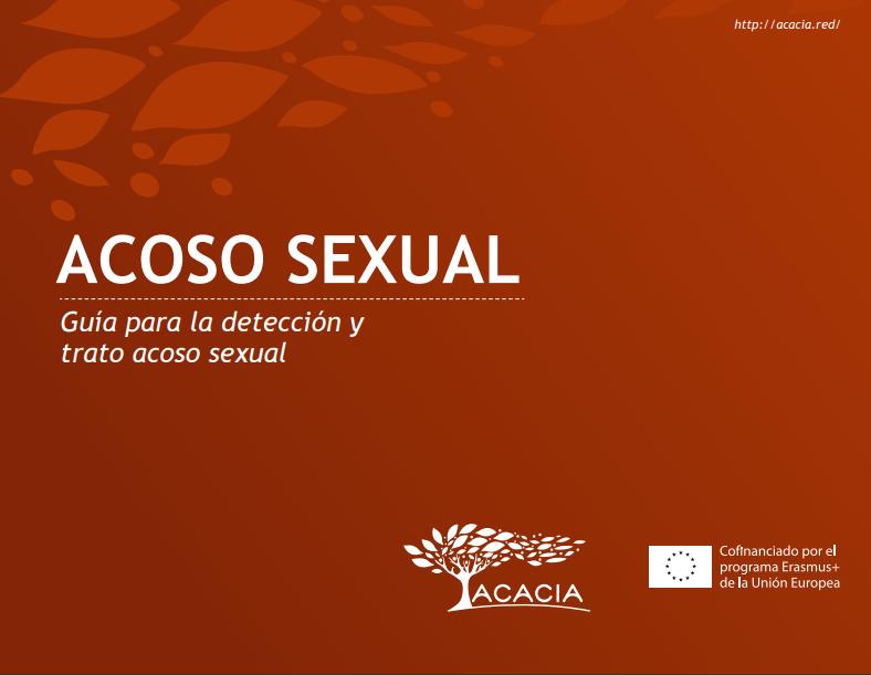 Portada de documento acoso sexual