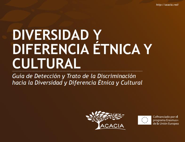 Portada de documento de diversidad y diferencia étnica y cultural