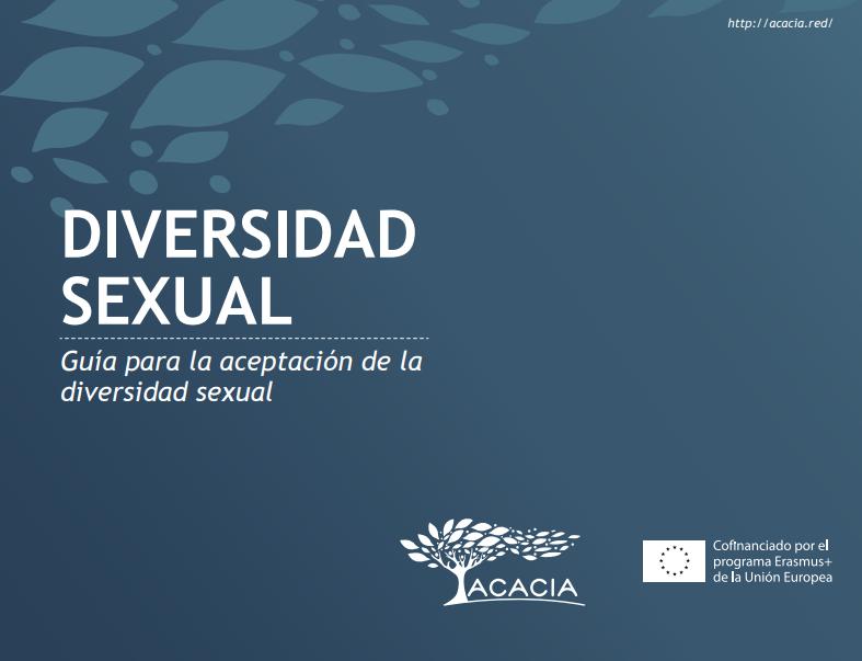 Portada de documento diversidad sexual