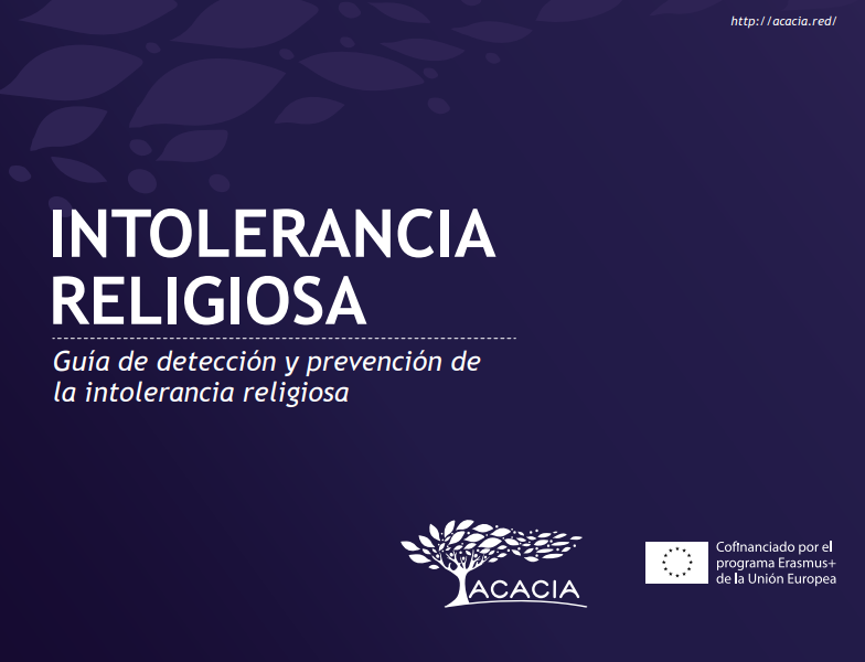 Portada de documento de intolerancia religiosa