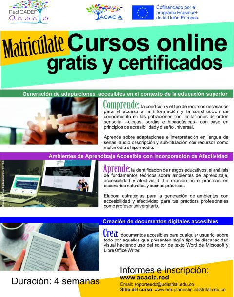 Cursos online gratis y certificados