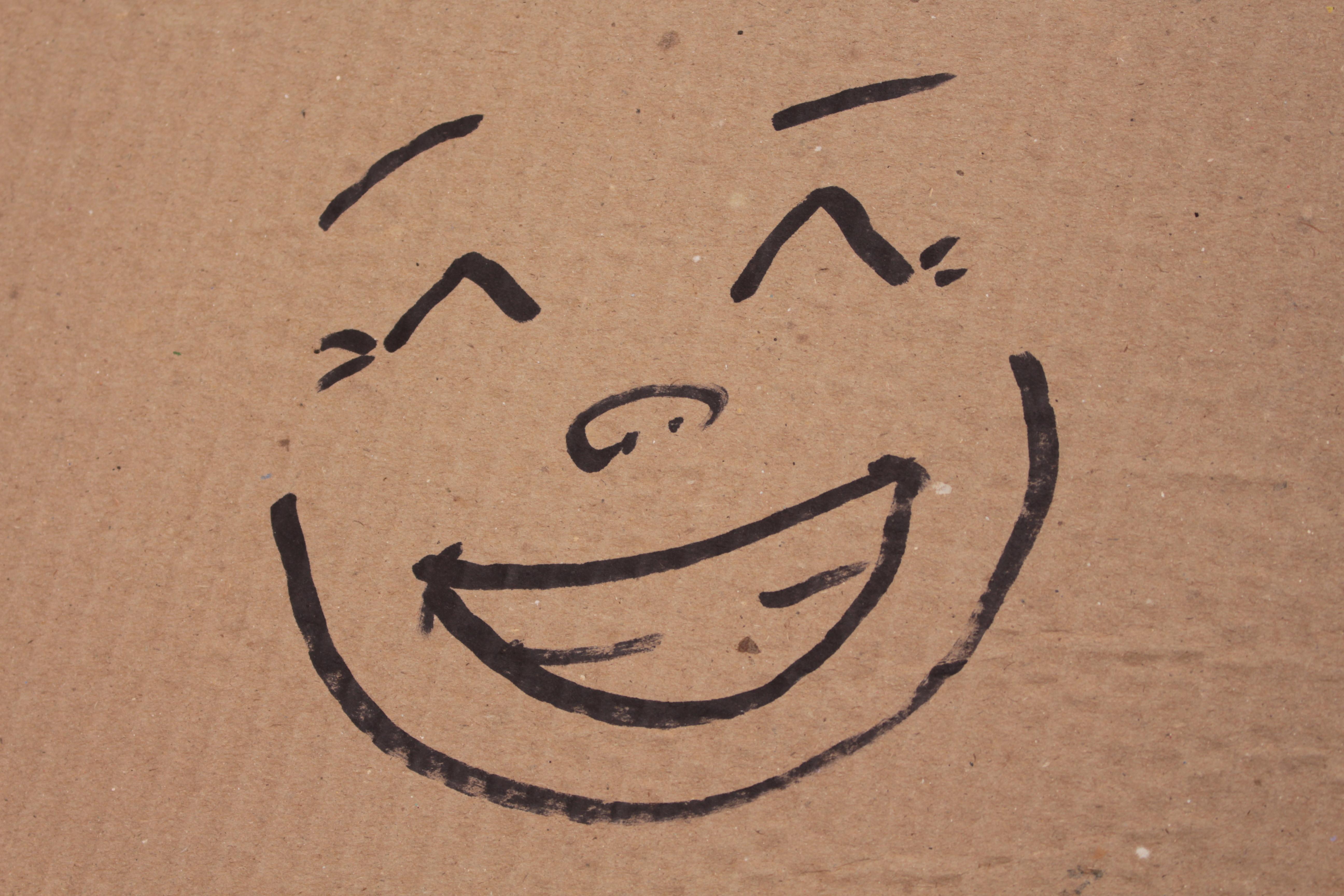 Dibujo de cara feliz