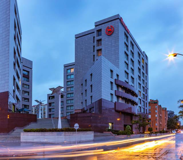 Edificio hotel sheraton