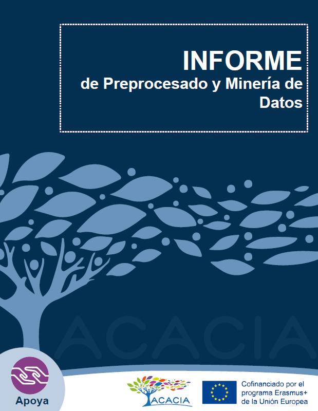 Portada de documento informe de preprocesado y minería de datos
