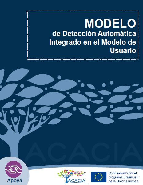 Portada de documento modelo de detección automática integrado en el modelo de usuario