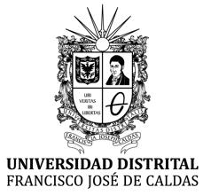 Logo de la Universidad Distrital Francisco José de Caldas