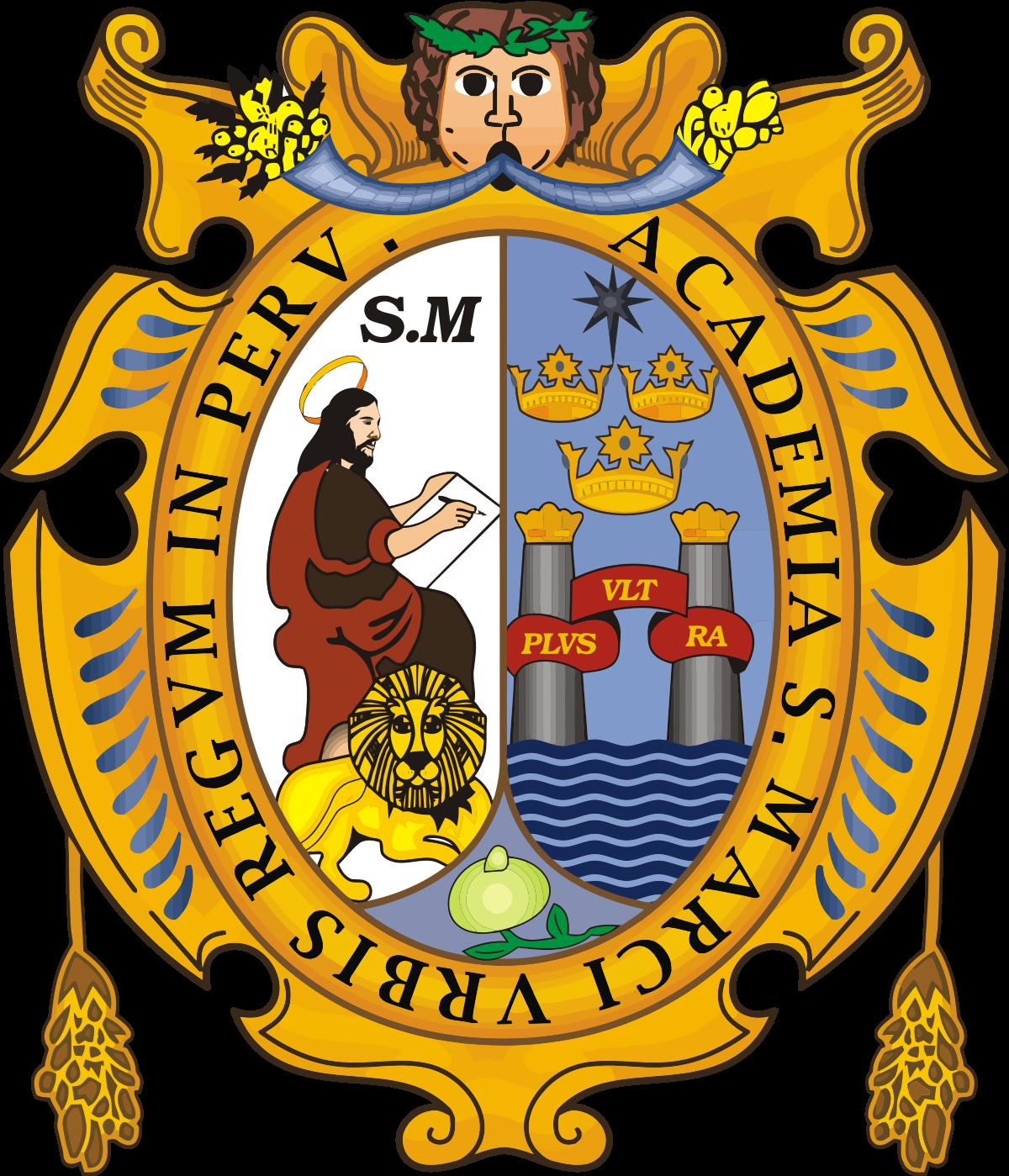 Logo de la Universidad Nacional Mayor de San Marcos