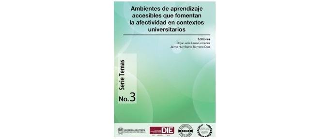 Portada del libro Ambientes de aprendizaje accesibles, editores: Olga León y Jaime Humberto