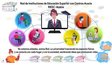 La UA y URACCAN organizaron la Jornada internacional para construir la educación afectiva y accesible en tiempos de crisis