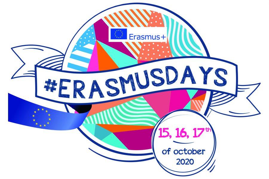 Logo del evento ErasmusDays 2020 15,16,17 de octubre