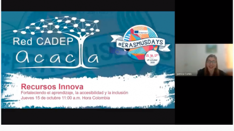 Red RIESC-Acacia se sumó celebración del Erasmus Day 2020 con diversas actividades virtuales