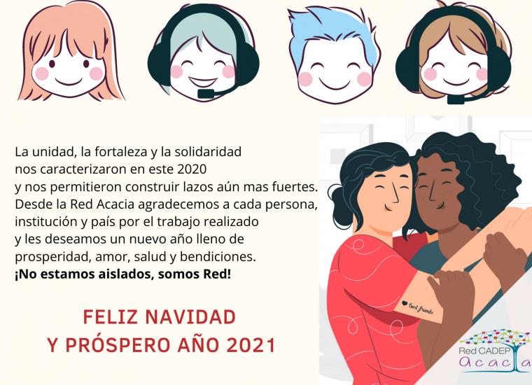 La unidad, la fortaleza y la solidaridad nos caracterizan en este 2020 y nos permitieron construir lazos aún más fuertes. Feliz navidad y próspero año 2021