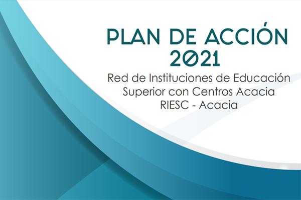 Portada del documento Plan de acción 2021