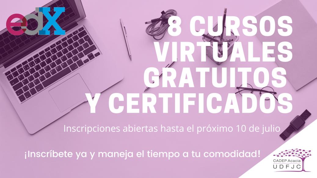 Cursos virtuales gratuitos y certificados