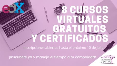 Cursos virtuales gratuitos y certificados: inscripciones abiertas